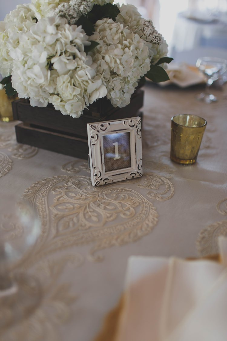 Table Numbers Decoration Glam Twinkling Ranch Wedding Florida https://www.stacypaulphotography.com/