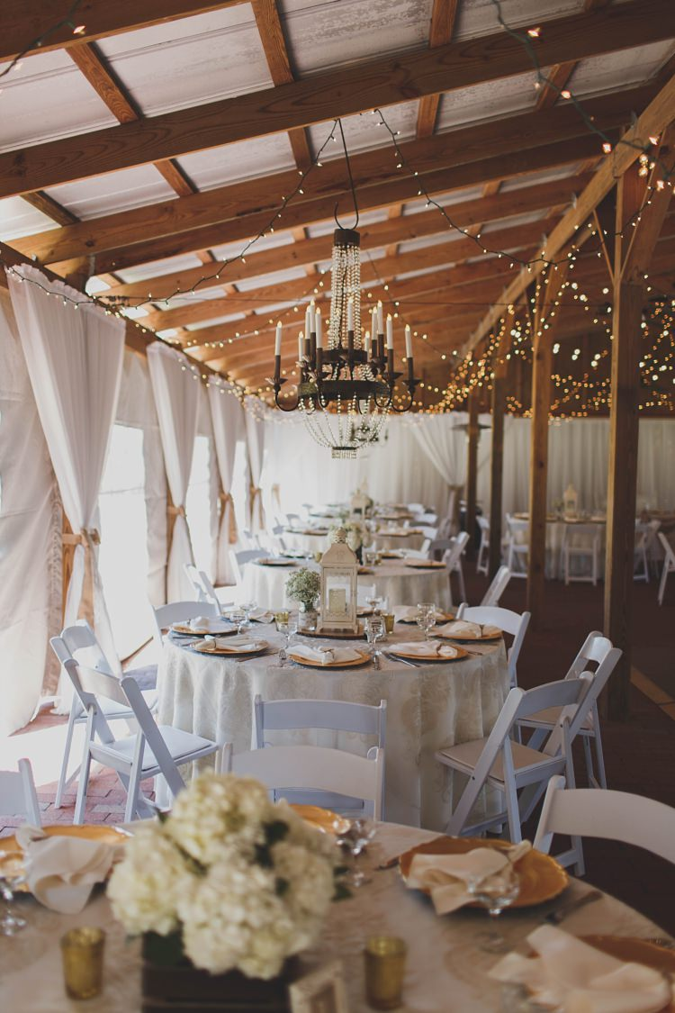 Reception Chandeliers Lights Glam Twinkling Ranch Wedding Florida https://www.stacypaulphotography.com/