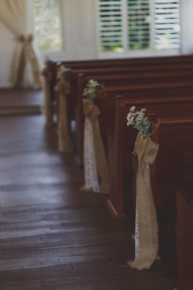 Pews Ceremony Glam Twinkling Ranch Wedding Florida https://www.stacypaulphotography.com/