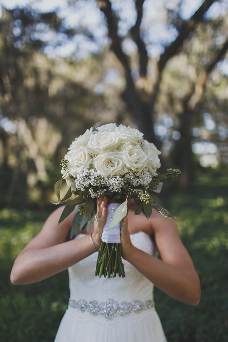 Bride Bouquet Roses Glam Twinkling Ranch Wedding Florida https://www.stacypaulphotography.com/
