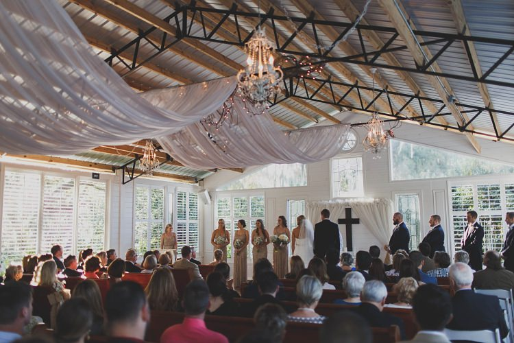Ceremony Guests Glam Twinkling Ranch Wedding Florida https://www.stacypaulphotography.com/