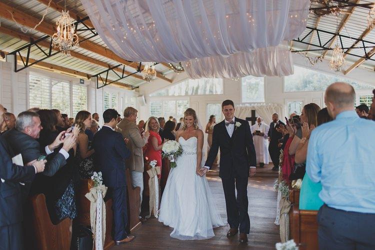Bride Groom Exit Glam Twinkling Ranch Wedding Florida https://www.stacypaulphotography.com/