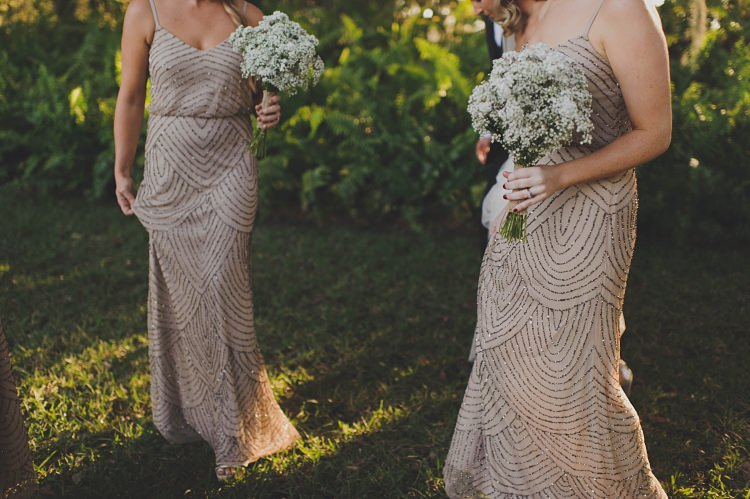 Bridesmaids Dresses Baby's Breath Sparkles Glam Twinkling Ranch Wedding Florida https://www.stacypaulphotography.com/