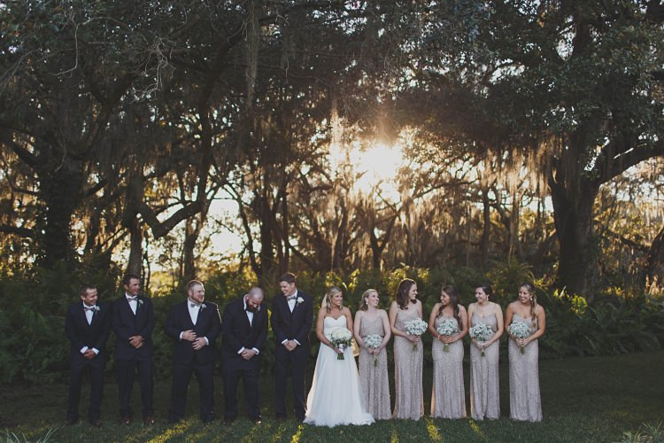 Bridal Party Laughter Glam Twinkling Ranch Wedding Florida https://www.stacypaulphotography.com/