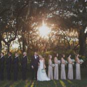 Glam Twinkling Ranch Wedding in Florida