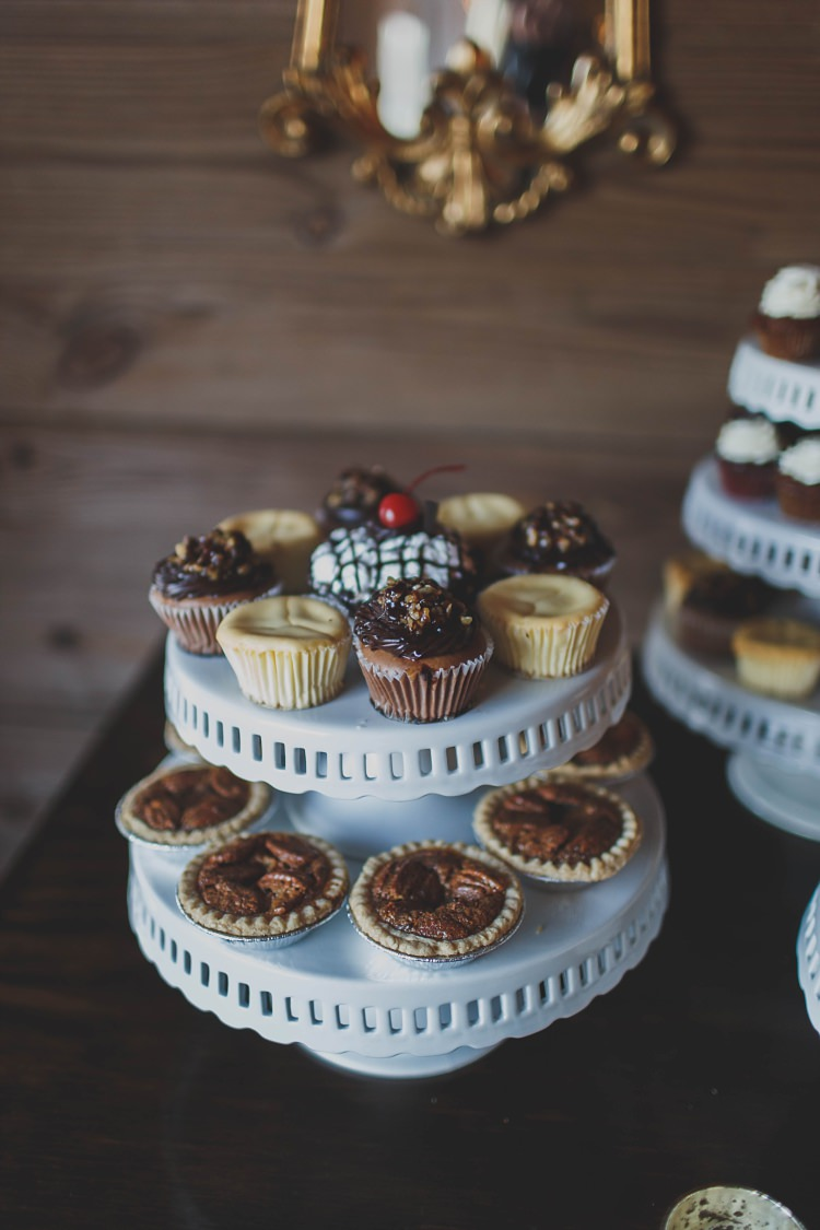 Dessert Table Cakes Glam Twinkling Ranch Wedding Florida https://www.stacypaulphotography.com/
