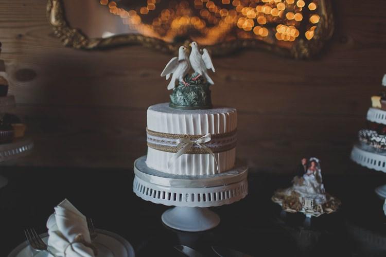 Cake Dessert Table Glam Twinkling Ranch Wedding Florida https://www.stacypaulphotography.com/