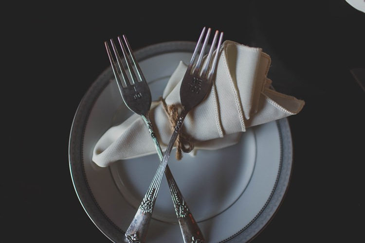 Place Setting Glam Twinkling Ranch Wedding Florida https://www.stacypaulphotography.com/