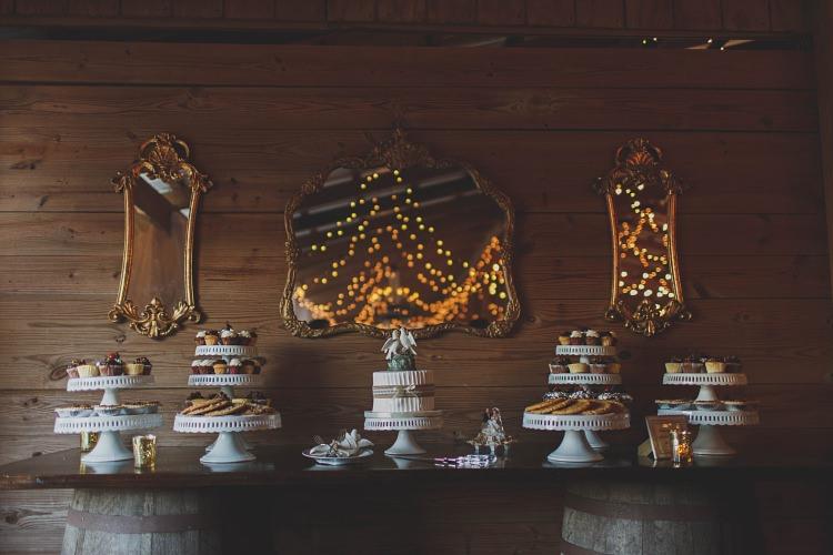 Dessert Table Glam Twinkling Ranch Wedding Florida https://www.stacypaulphotography.com/
