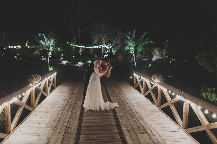 Night Bride Groom Pose Glam Twinkling Ranch Wedding Florida https://www.stacypaulphotography.com/