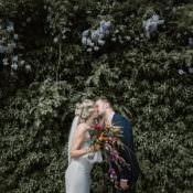 Tropical Laid Back Local London Lido Wedding
