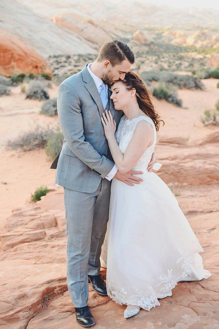 Windy Valley of Fire Wedding Nevada https://cactusandlaceweddings.com/