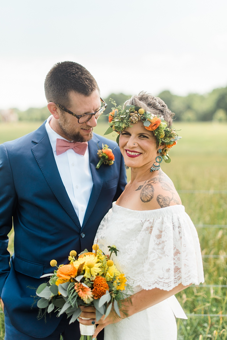 Colourful Bohemian Barn Wedding in Pennsylvania