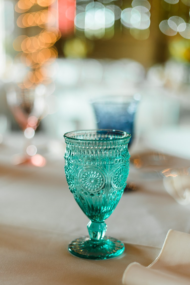 Glassware Colourful Bohemian Barn Wedding Pennsylvania http://www.dawn-derbyshire.com/