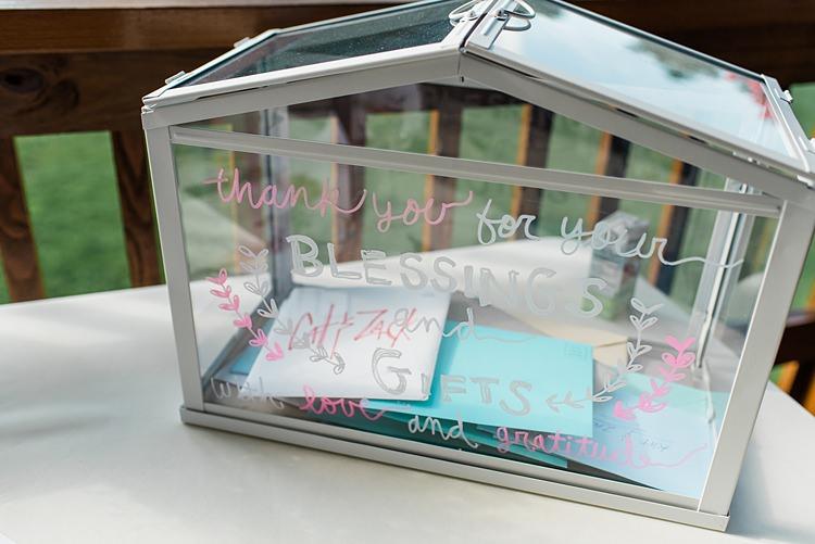 Cards Postbox Colourful Bohemian Barn Wedding Pennsylvania http://www.dawn-derbyshire.com/