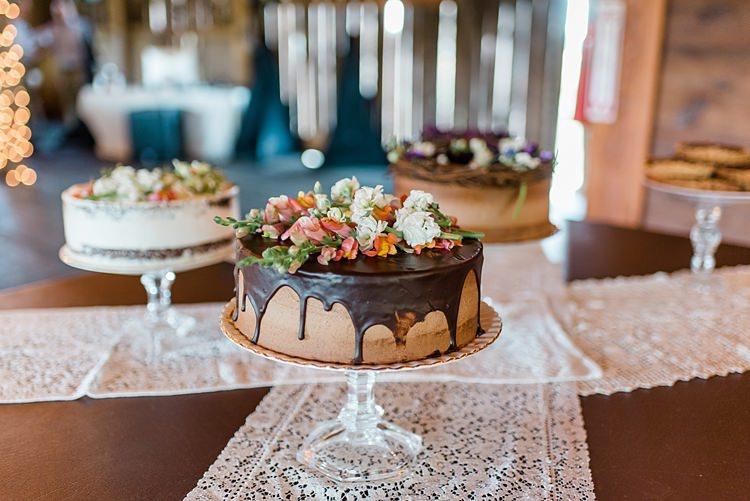 Drip Cake Dessert Table Colourful Bohemian Barn Wedding Pennsylvania http://www.dawn-derbyshire.com/
