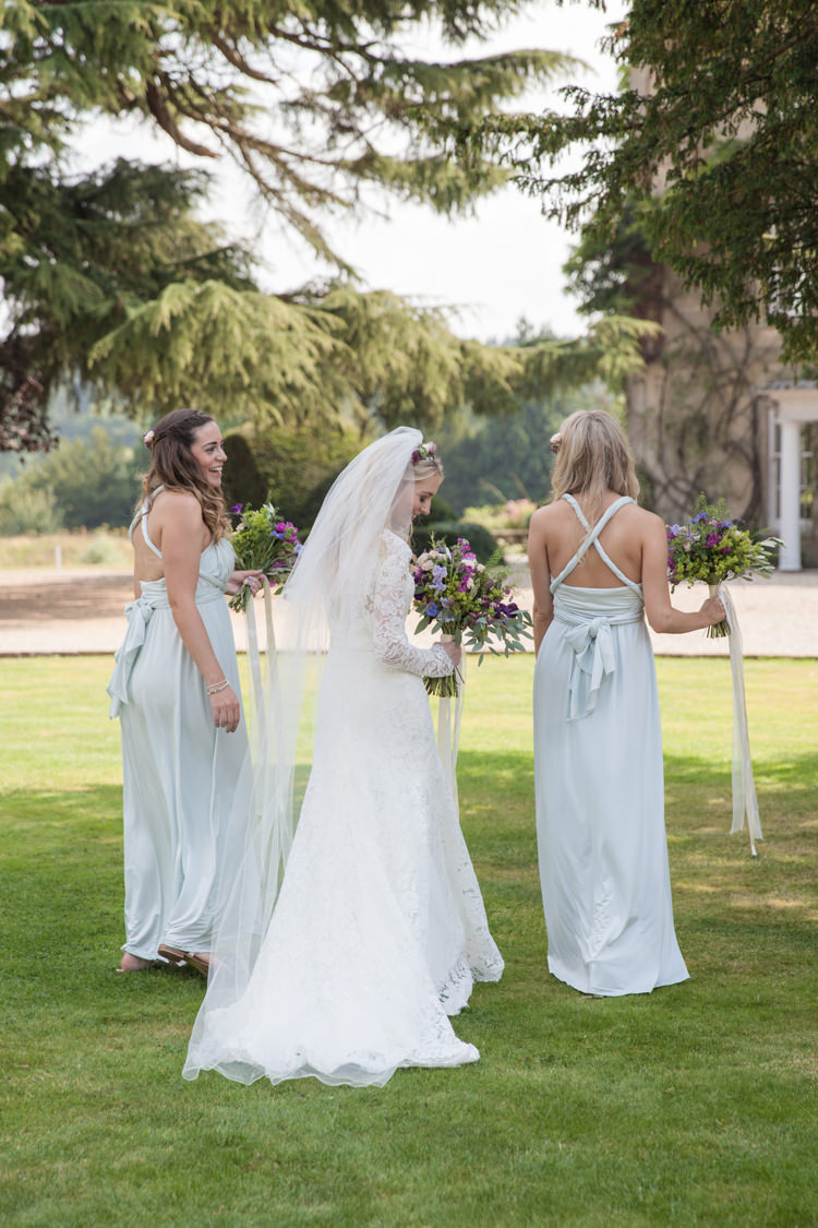 Multiway Bridesmaid Dresses Back Summer Festival Country Estate Wedding http://kerryannduffy.com/