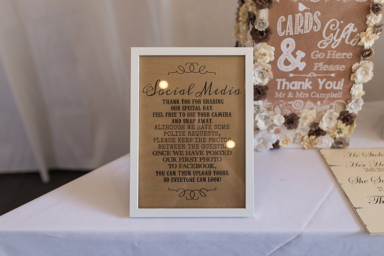 Unplugged Wedding Sign Social Media Big Stylish Outdoors Glamping Wedding https://www.jessyarwood.co.uk/