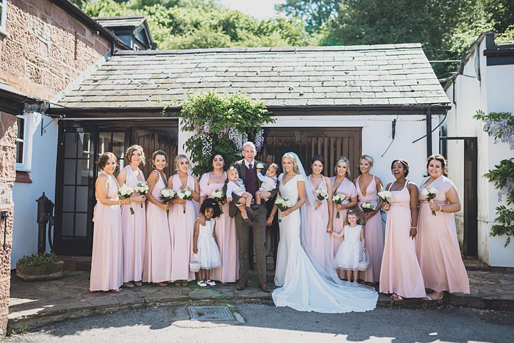 Long Pink Bridesmaids Dresses Big Stylish Outdoors Glamping Wedding https://www.jessyarwood.co.uk/