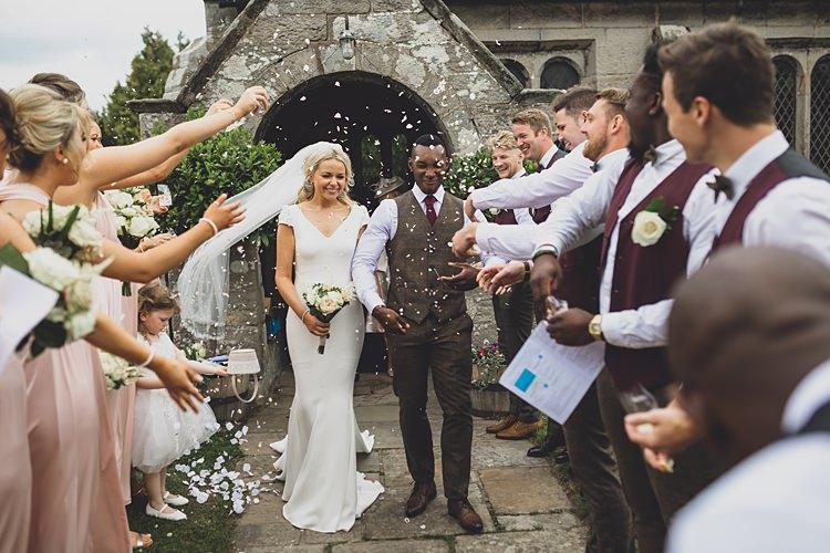 Confetti Throw Bride Groom Big Stylish Outdoors Glamping Wedding https://www.jessyarwood.co.uk/