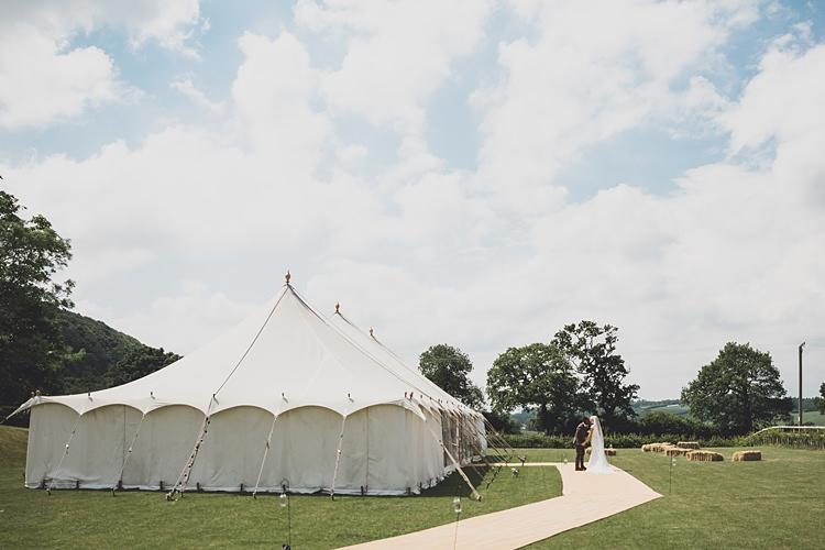 Traditional Marquee Big Stylish Outdoors Glamping Wedding https://www.jessyarwood.co.uk/