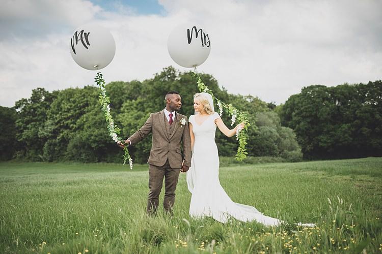 Mr Mrs Balloons Big Stylish Outdoors Glamping Wedding https://www.jessyarwood.co.uk/