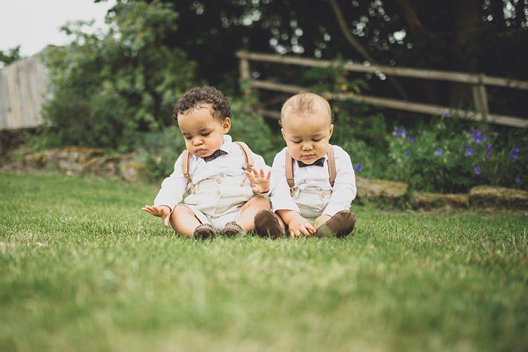 Baby Page Boys Bow tIes Braces Big Stylish Outdoors Glamping Wedding https://www.jessyarwood.co.uk/