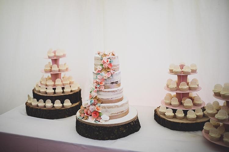 Cake Table Big Stylish Outdoors Glamping Wedding https://www.jessyarwood.co.uk/