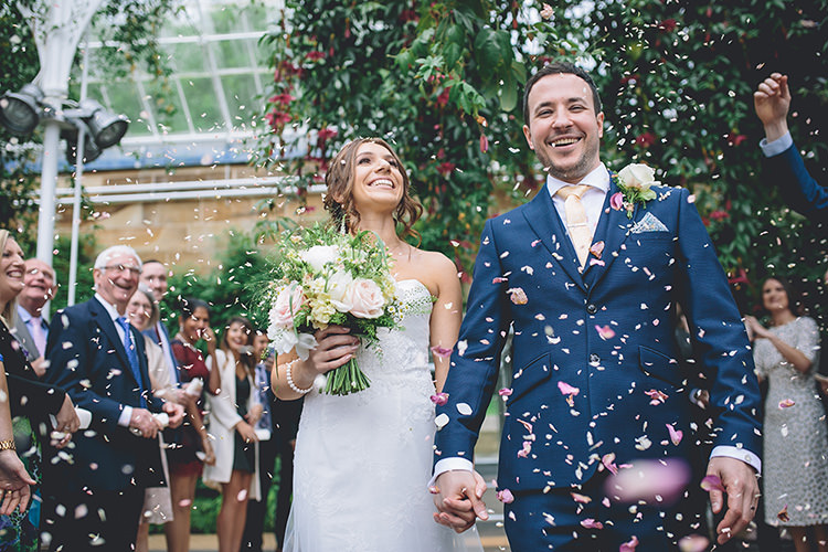 Confetti Throw Darling Pale Pastels Conservatory Wedding http://storyandcolour.co.uk/