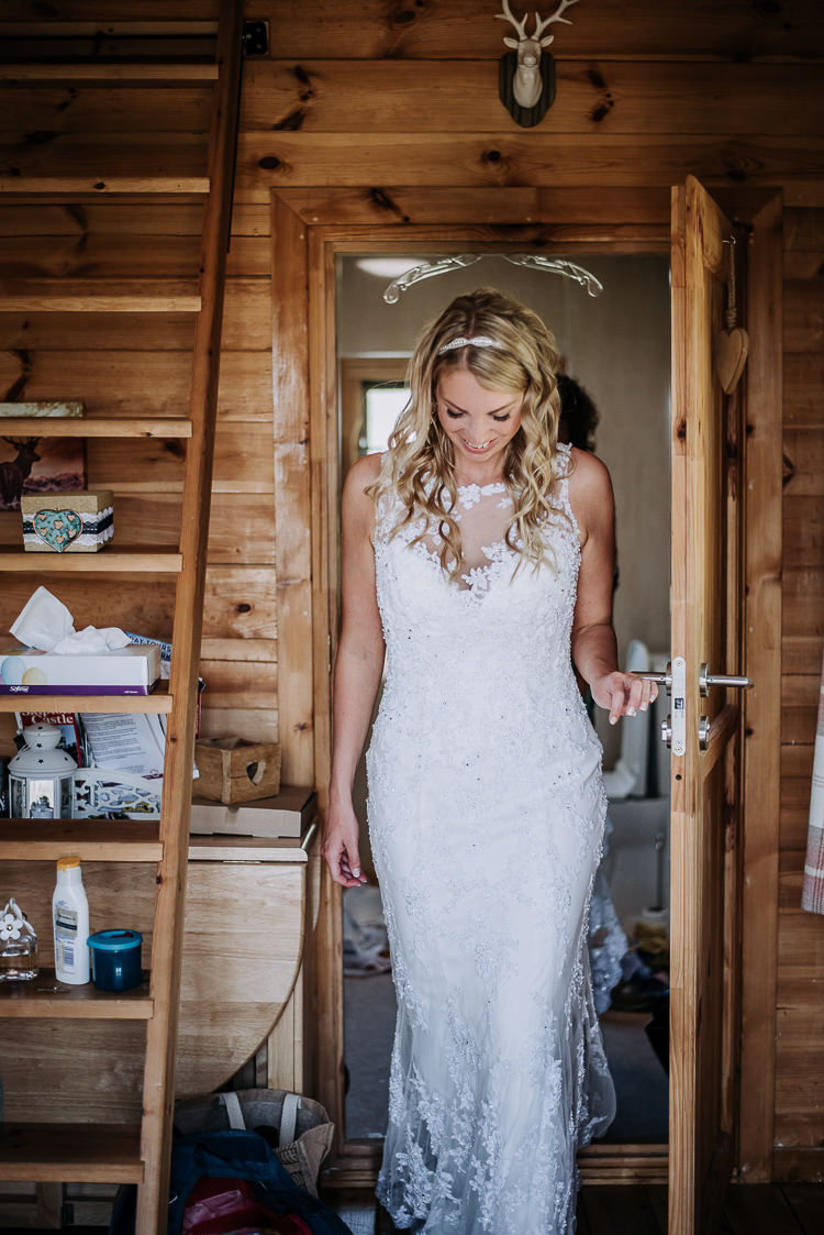 Lace Dress Gown Bride Bridal Sophia Tolli Rustic Farm Barn DIY Wedding http://www.kazooieloki.co.uk/