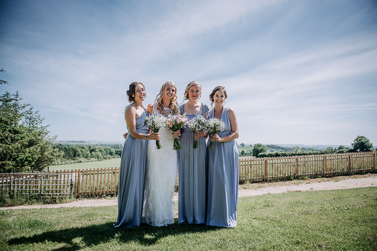 Long Lilac Bridesmaid Dresses Rustic Farm Barn DIY Wedding http://www.kazooieloki.co.uk/