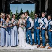 Rustic Farm Barn DIY Wedding