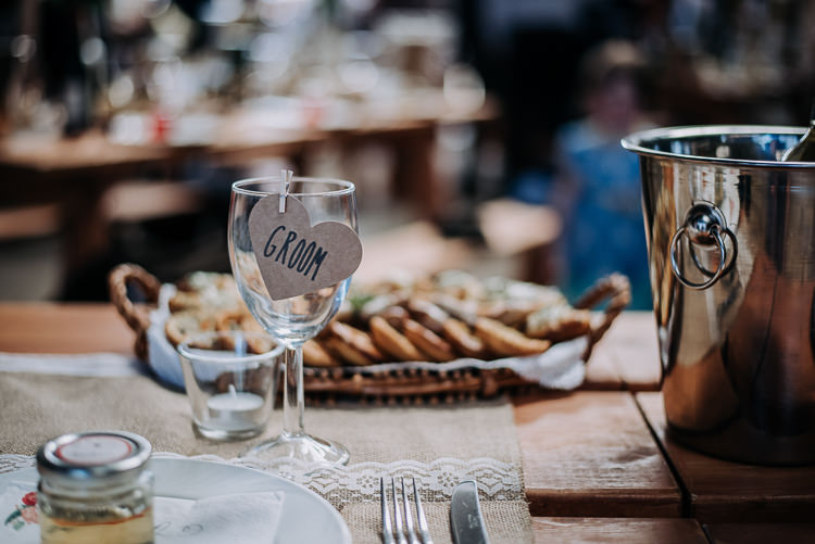 Heart Peg Glass Place Name Card Rustic Farm Barn DIY Wedding http://www.kazooieloki.co.uk/