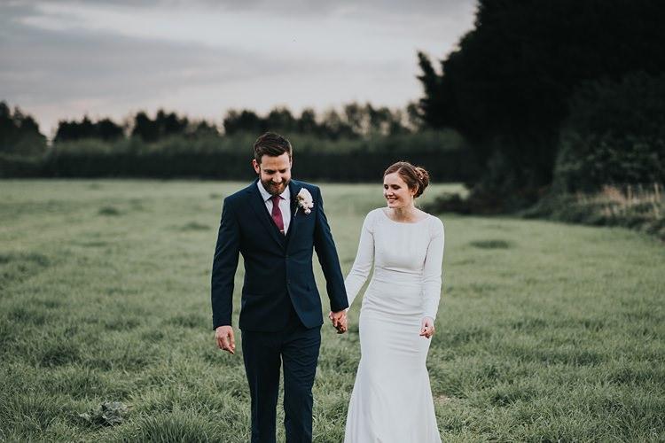 Burgundy Blush Minimal Elegant Barn Wedding http://www.rosshurley.com/