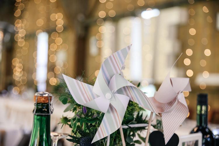 Pin Wheel Decor Camp Festival Style Chilled Wedding http://www.memoriesmilestones.co.uk/