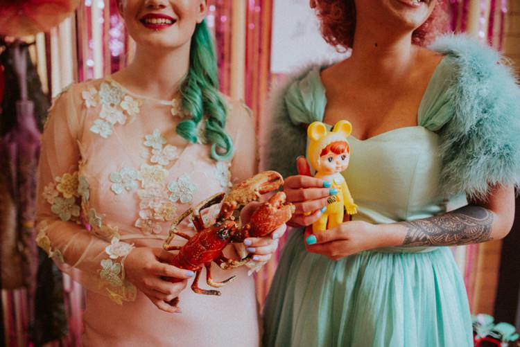 Retro Kitsch Pastel Mint Pink Wedding Ideas http://www.beckyryanphotography.co.uk/