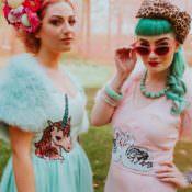 Retro Kitsch Pastel Mint & Pink Wedding Ideas