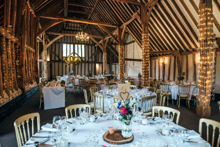 Blake Hall Essex Fairy Lights Colourful Hand Made Rustic Barn Flower Filled Wedding http://www.threeflowersphotography.co.uk/