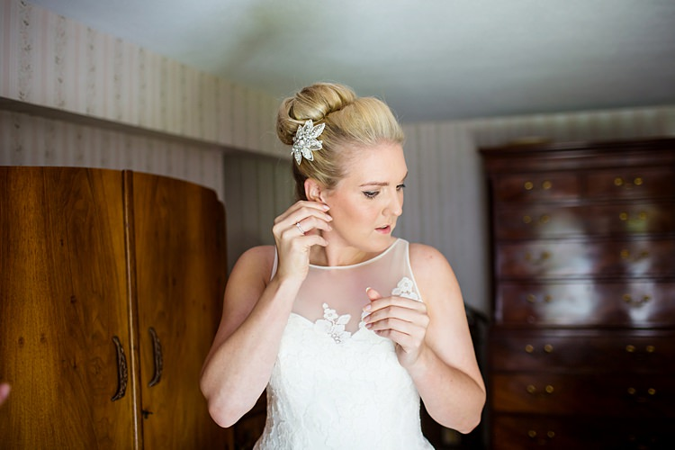 Hair Bun Chignon Bride Bridal Style Country Rustic Picnic Marquee Wedding https://www.binkynixon.com/