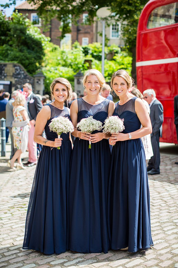 Long Navy Bridesmaid Dresses Maxi Country Rustic Picnic Marquee Wedding https://www.binkynixon.com/