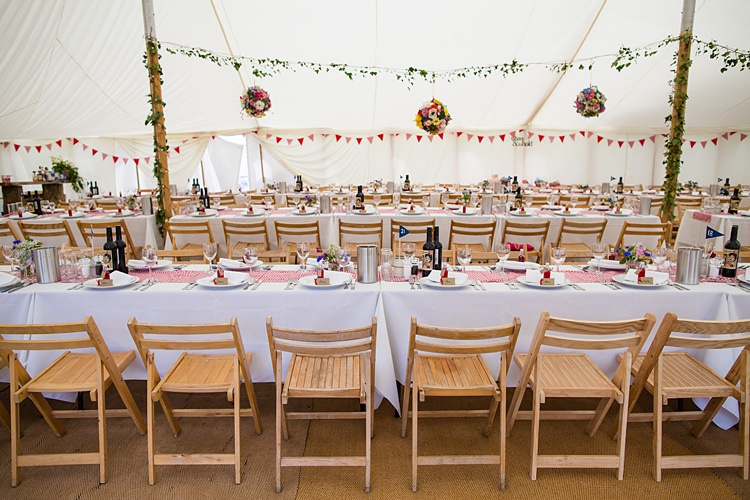 Pole Tent Decor Venue Country Rustic Picnic Marquee Wedding https://www.binkynixon.com/