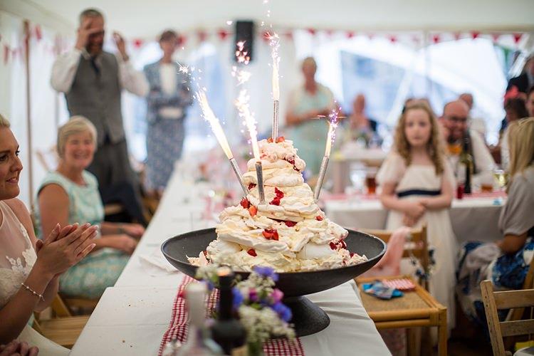 Dessert Pavlova Country Rustic Picnic Marquee Wedding https://www.binkynixon.com/