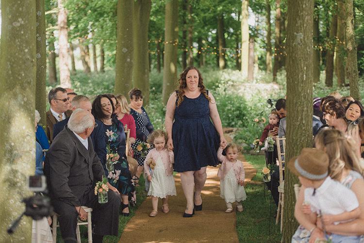 DIY Rustic Woodland Marquee Wedding http://www.rebeccadouglas.co.uk/