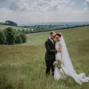 DIY Outdoor Tipi Vineyard Wedding