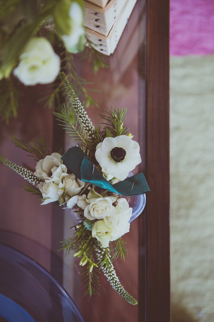 Flowers White Greenery Bouquets Urban Industrial Chic Warehouse Wedding http://sashaweddings.co.uk/