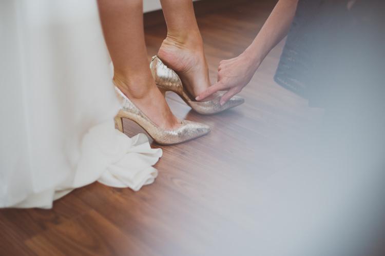 Gld Shoes Bride Bridal Heels Urban Industrial Chic Warehouse Wedding http://sashaweddings.co.uk/