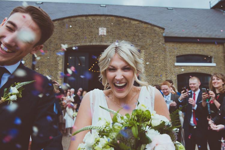 Urban Industrial Chic Warehouse Wedding http://sashaweddings.co.uk/
