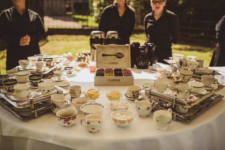 Afternoon Tea Vintage China Enchanting Woods Inspired Country Wedding http://alexapenberthy.com/