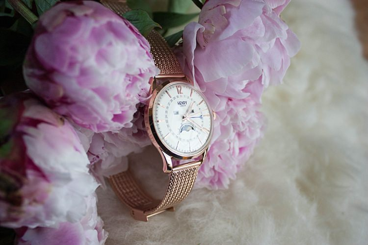 Wedding Gift Present Idea Bride Bridal Bridesmaids Groom Watch Henry London UK