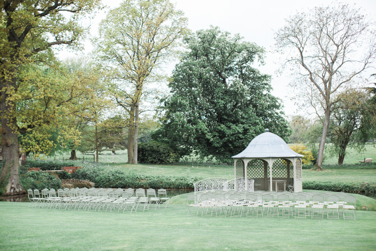 Outdoor UK Cremony Longstowe Hall Beautifully Authentic Rustic Country House Wedding https://www.nikkismoments.com/